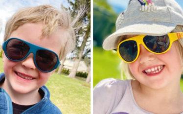 Norsk solbrilledesign til barna
