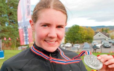 NYSATSING: Maria Sagnes Wågan har sanket ikke mindre enn 22 NM-medaljer totalt i løpet av de fem siste årene. Heretter vil medaljejakten hovedsakelig foregå på asfalt.
