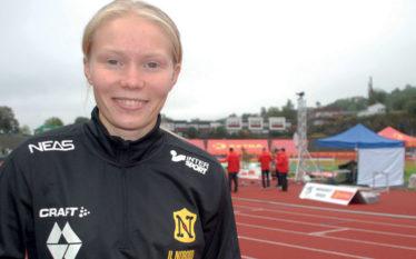 Elise har U23-EM som siktepunkt: USA-student med lovende utvikling